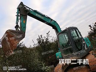 湖南-衡阳市二手神钢SK75-8挖掘机实拍照片