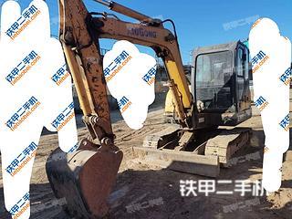 河北-石家庄市二手柳工CLG906D挖掘机实拍照片