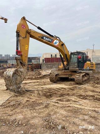 浙江-金华市二手三一重工SY245H挖掘机实拍照片