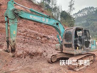 四川-乐山市二手神钢SK140LC-8挖掘机实拍照片