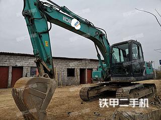 贵州-黔东南苗族侗族自治州二手神钢SK140LC-8挖掘机实拍照片