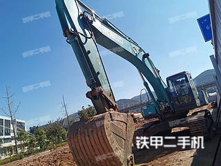 云南-昆明市二手神钢SK350LC-8挖掘机实拍照片