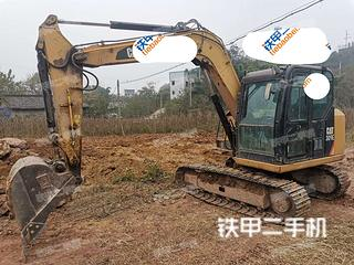 四川-内江市二手卡特彼勒307E液压挖掘机实拍照片