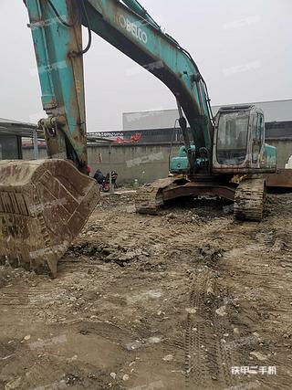 四川-成都市二手神钢SK250LC挖掘机实拍照片