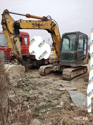 陕西-汉中市二手现代R80-7挖掘机实拍照片