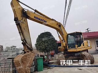 江苏-南京市二手小松PC220-8挖掘机实拍照片