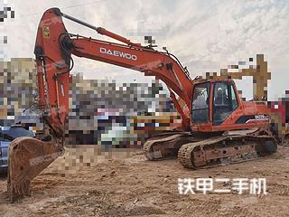 广西-柳州市二手斗山DH220LC-7挖掘机实拍照片