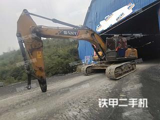 湖南-湘西土家族苗族自治州二手三一重工SY245H挖掘机实拍照片