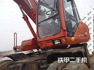 山东-日照市二手斗山DH130W-V挖掘机实拍照片