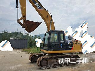 浙江-杭州市二手卡特彼勒320D液压挖掘机实拍照片