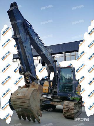陕西-汉中市二手约翰迪尔E130挖掘机实拍照片