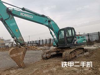 河南-许昌市二手神钢SK210LC-8挖掘机实拍照片