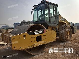 湖南-长沙市二手徐工XS263J压路机实拍照片