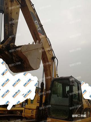 陕西-西安市二手卡特彼勒323DL挖掘机实拍照片
