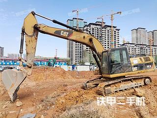 湖南-长沙市二手卡特彼勒324D挖掘机实拍照片