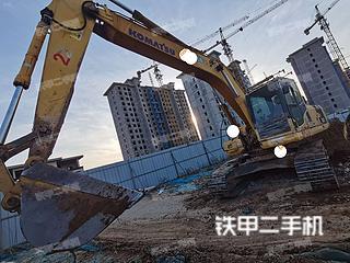 河南-鹤壁市二手小松PC220-8挖掘机实拍照片