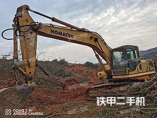 湖南-衡阳市二手小松PC200-8挖掘机实拍照片
