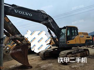 云南-红河哈尼族彝族自治州二手沃尔沃EC350D挖掘机实拍照片