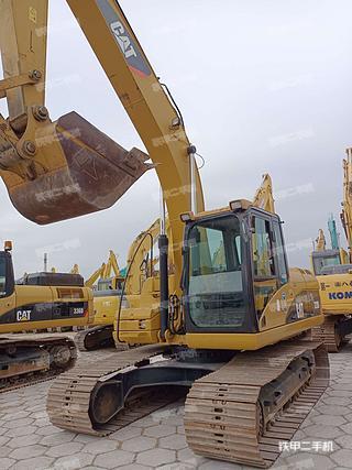 广东-东莞市二手卡特彼勒320D液压挖掘机实拍照片