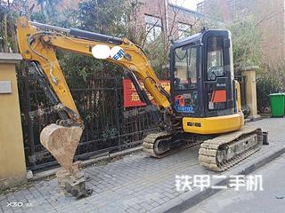 柳工CLG9035E挖掘機實拍圖片