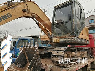 河南-焦作市二手柳工CLG908D挖掘机实拍照片