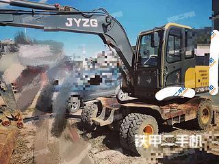 長沙聚友重工JY85-9M挖掘機實拍圖片