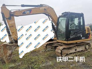 陕西-西安市二手卡特彼勒307D液压挖掘机实拍照片