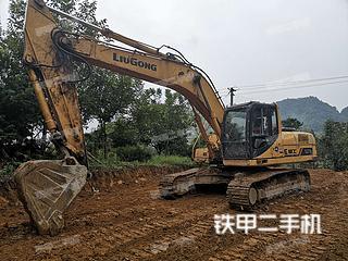 贵州-黔南布依族苗族自治州二手柳工CLG925D挖掘机实拍照片