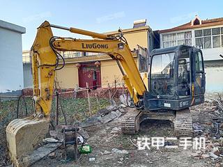 河南-驻马店市二手柳工CLG906D挖掘机实拍照片