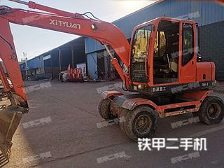 江西-吉安市二手新源XY75W-9挖掘机实拍照片