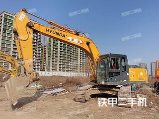 河南-驻马店市二手现代R225LC-7挖掘机实拍照片
