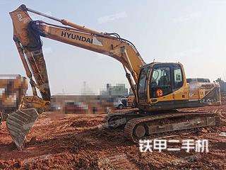 二手现代 R225LC-9T 挖掘机转让出售