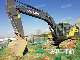 陕西-西安市二手沃尔沃EC250D挖掘机实拍照片
