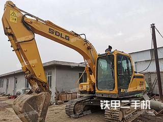 山东-临沂市二手山东临工E6135F挖掘机实拍照片