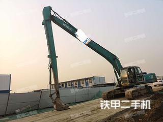 江苏-南京市二手神钢SK250LC挖掘机实拍照片