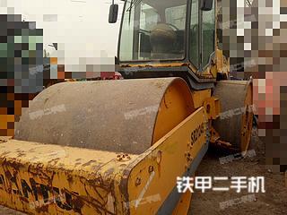 安徽-蚌埠市二手山推SR2124S压路机实拍照片