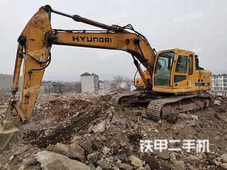 二手现代 R225-7 挖掘机转让出售