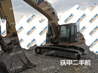 四川-攀枝花市二手卡特彼勒324D挖掘机实拍照片
