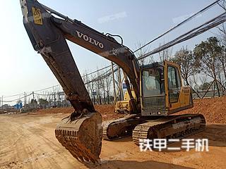 湖南-长沙市二手沃尔沃EC140BLC挖掘机实拍照片