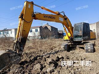 江苏-常州市二手现代R215-7C挖掘机实拍照片