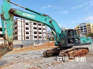 云南-红河哈尼族彝族自治州二手神钢SK350LC-8挖掘机实拍照片