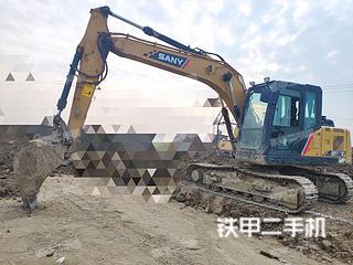 安徽-宿州市二手三一重工SY135C挖掘机实拍照片