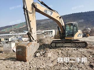 江苏-南京市二手卡特彼勒320D液压挖掘机实拍照片