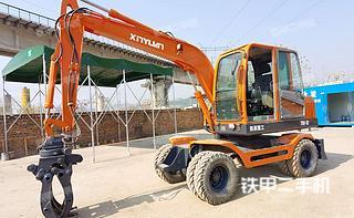 广西-南宁市二手新源XY75W-9挖掘机实拍照片