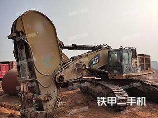 卡特彼勒390DL挖掘機實拍圖片