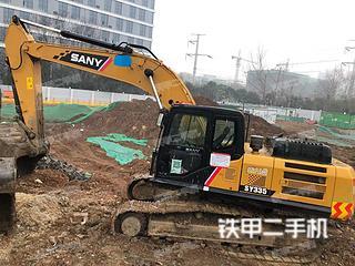 安徽-马鞍山市二手三一重工SY245H挖掘机实拍照片