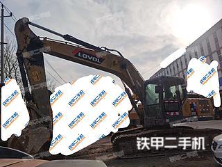 二手雷沃重工 FR220E 挖掘机转让出售