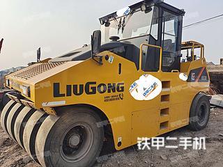 河北-邯郸市二手柳工CLG6530压路机实拍照片