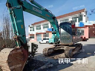 山东-滨州市二手神钢SK140LC-8挖掘机实拍照片