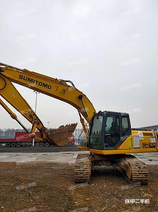 二手住友 SH210-5 挖掘机转让出售